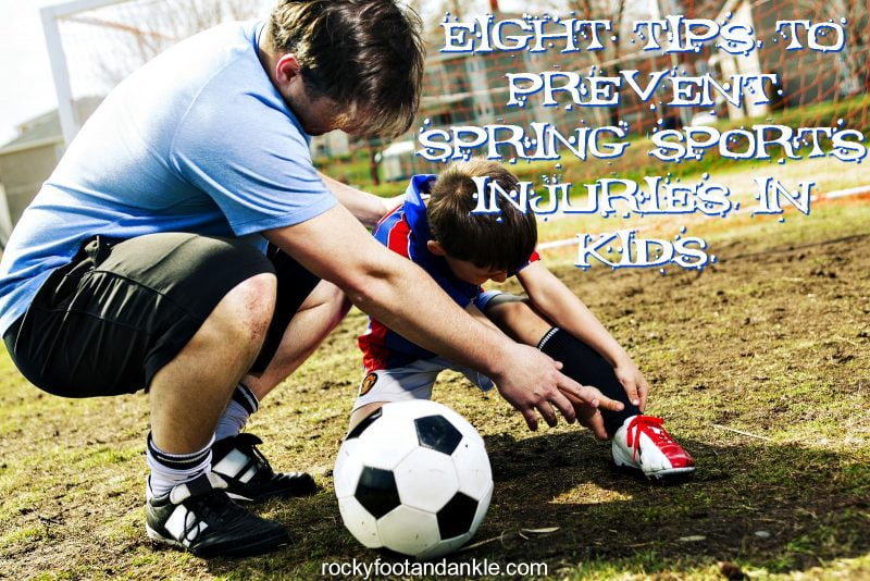 8 Tips to Prevent Spring Sports Injuries in Kids