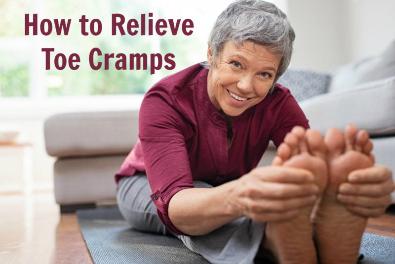 How to Relieve Toe Cramps with 4 Remedies That Really Work
