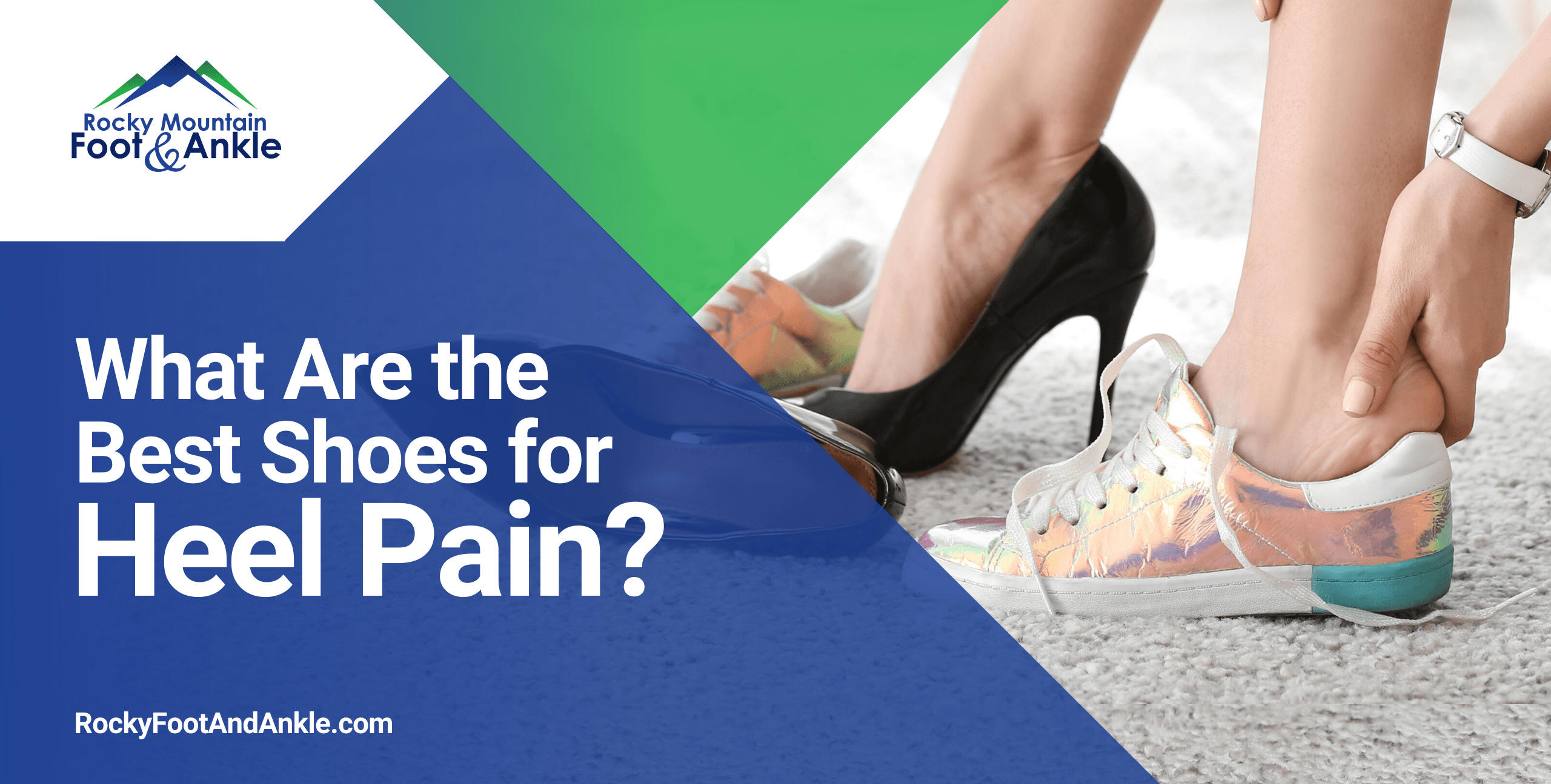 What Are the Best Shoes for Heel Pain? | Blog Graphic Burk 2020 06 15 ShoesHeelPain