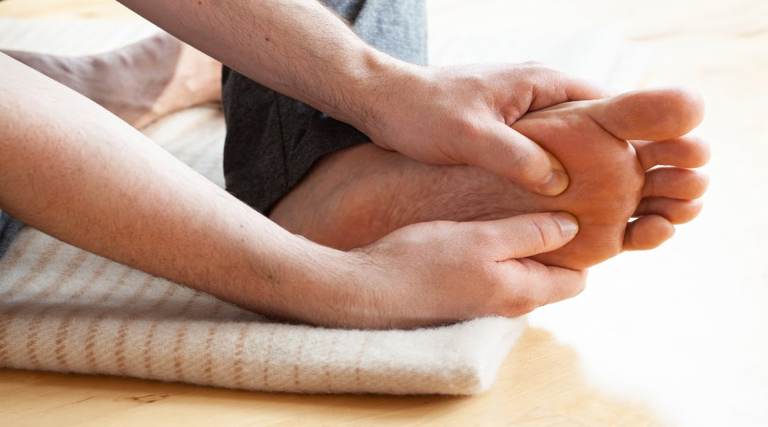 heel pain during exercise